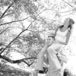 Michigan State University engagement photos
