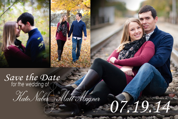 Engagement Save The Date Magnets