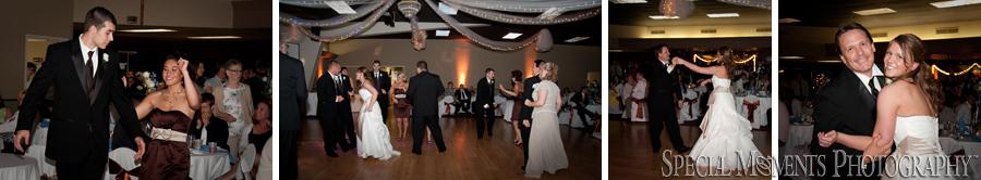 Knights of Columbus Dexter wedding reception photograph