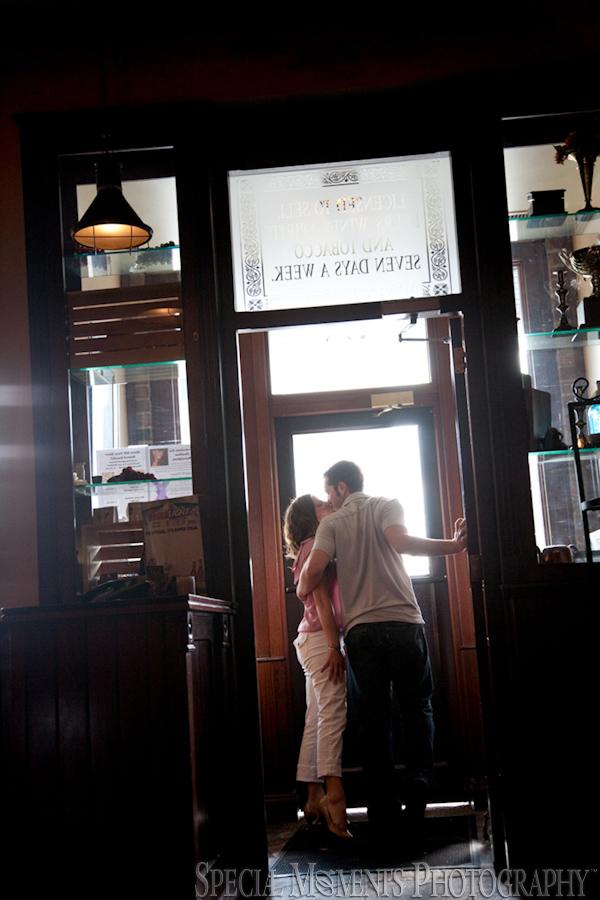 Stout Irish Pub Brighton MI wedding engagement photograph