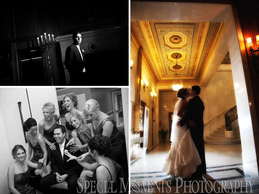 Detroit Athletic Club - Detroit wedding photographs