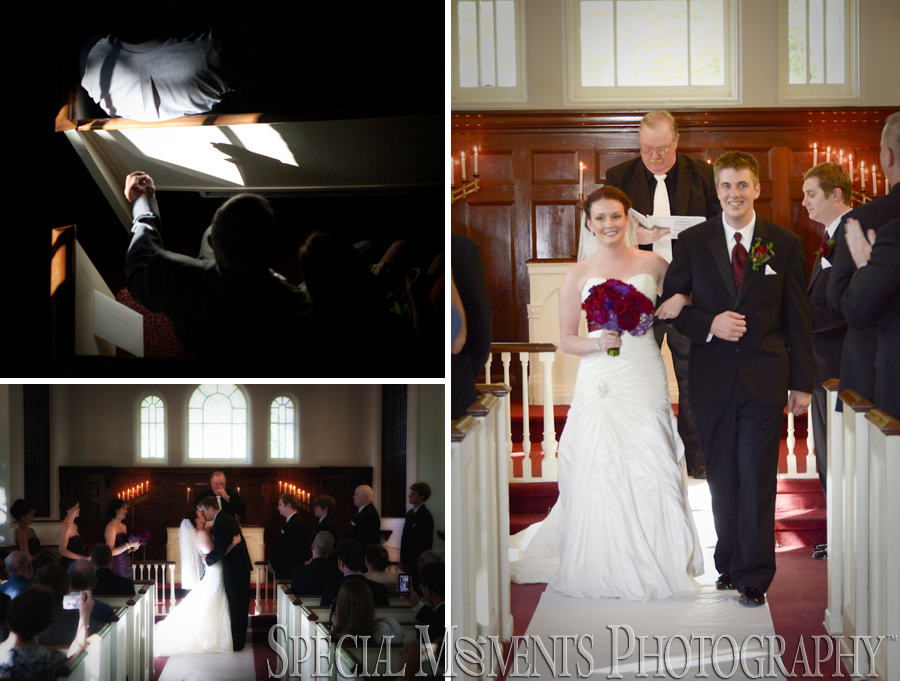 Martha-Mary Chapel wedding Greenfield Village Dearborn
