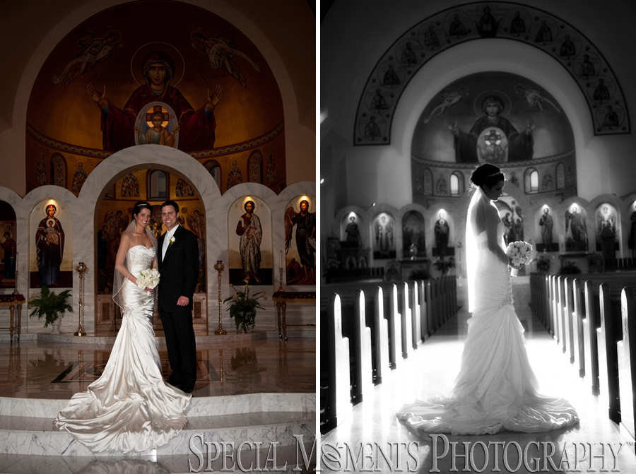 Annunciation Cathedral Greek Orthodox wedding Detroit