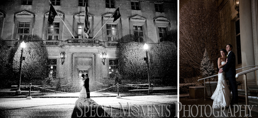 Detroit Athletic Club Detroit wedding photograph