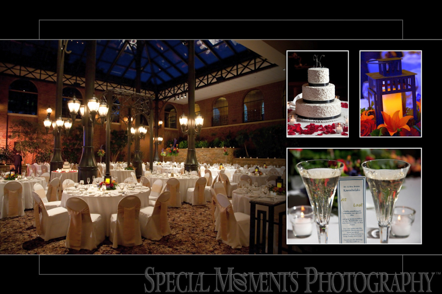 Inn at St. John's Atrium Ballroom wedding photograph Plymouth MI
