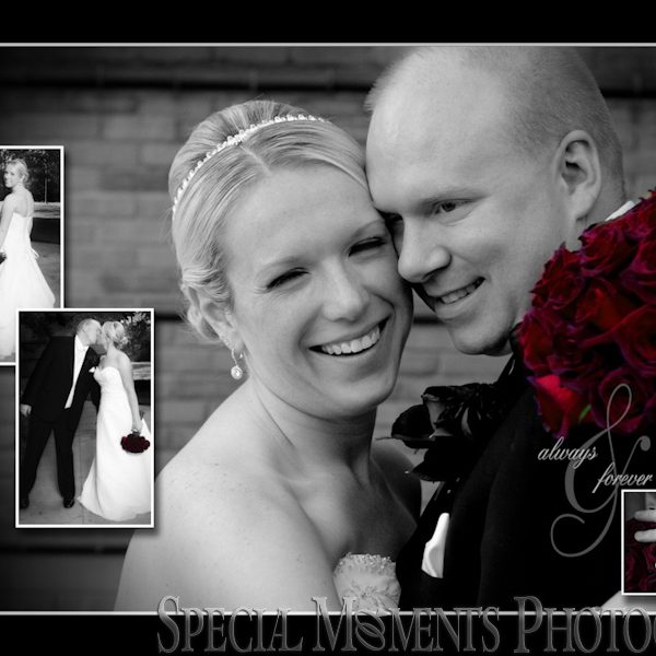 Brandon & Erika's Wedding Album Design: Event at Summit On The Park Wedding Canton MI