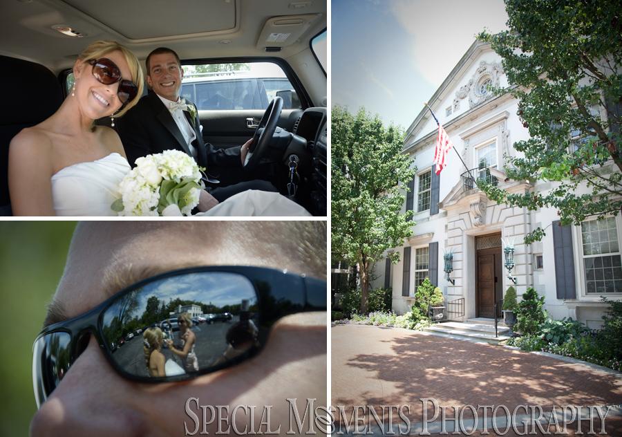 Grosse Pointe War Memorial wedding Grosse Pointe Farms MI