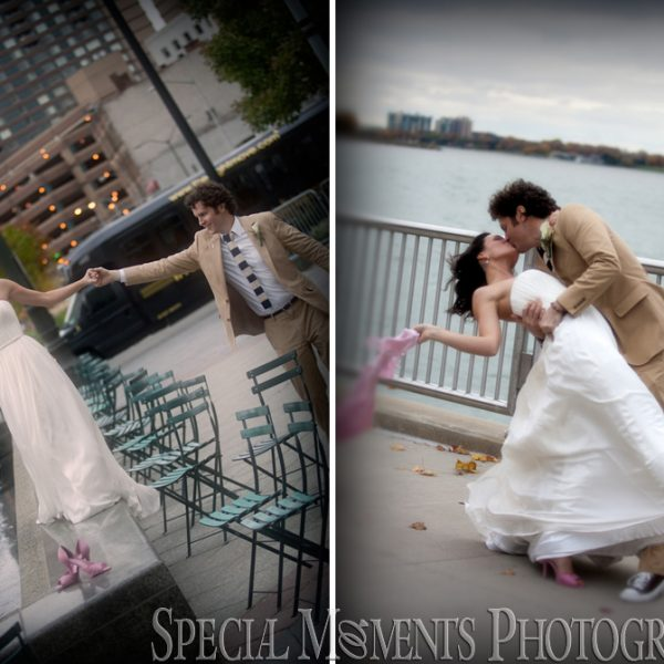 Katie & Matt: Belle Isle Conservatory Wedding & Gem Theatre Wedding Reception Detroit MI