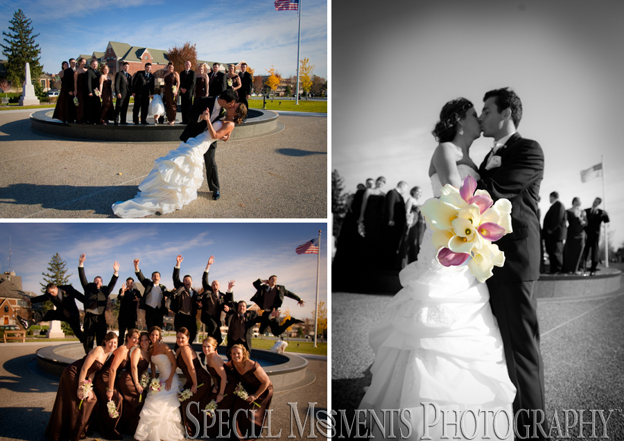 Glen Oaks Country Club wedding Farmington Hills MI wedding photograph