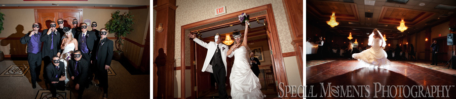 Holiday Inn Southgate MI wedding photograph