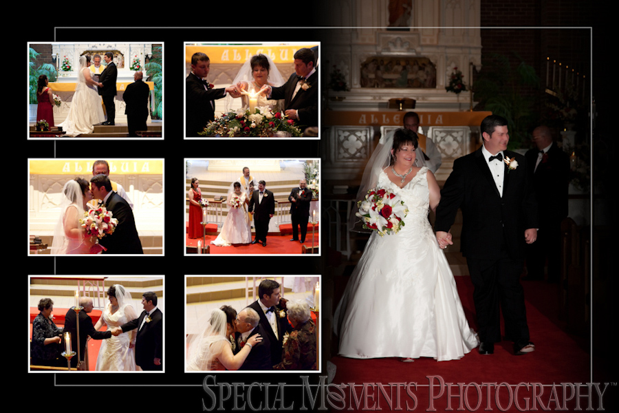 Christ our Savior Lutheran wedding photograph Livonia MI