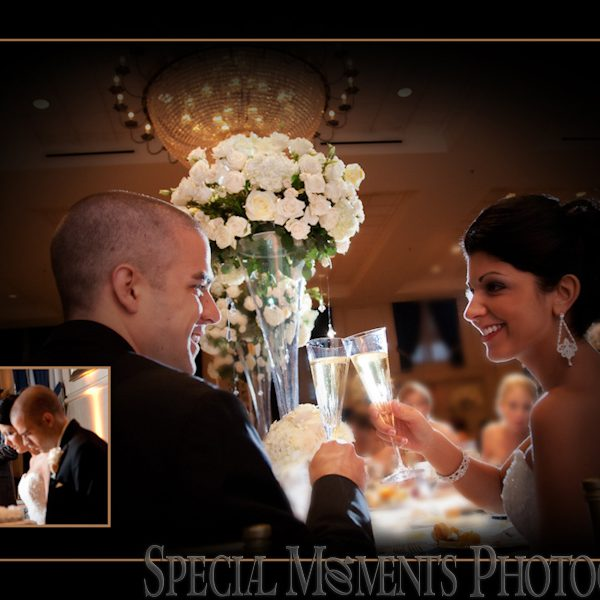 Daniel & Jennifer's wedding album design from Inn at Inn at St. John Grande Ballroom Wedding Plymouth MI
