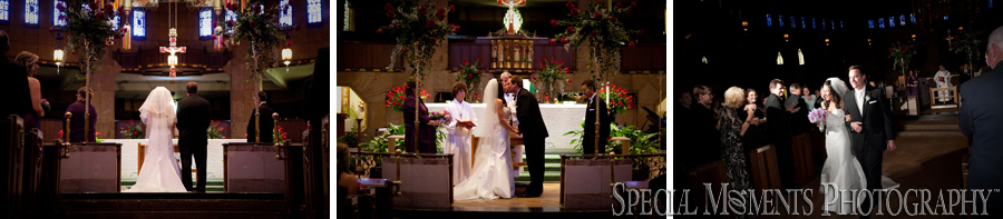 Shrine of the Little Flower wedding Royal Oak MI photos