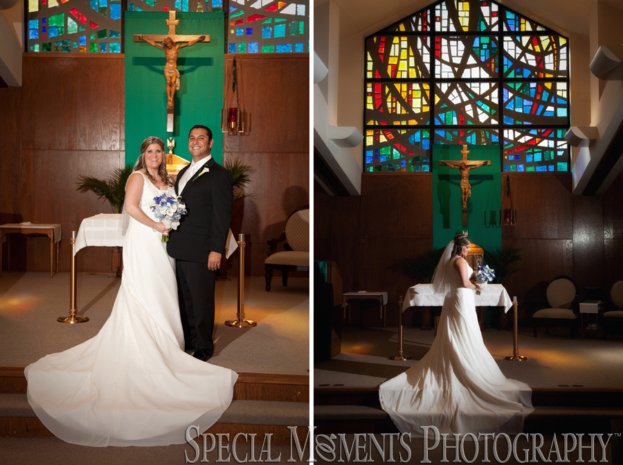 St. Alfred Taylor MI wedding photograph