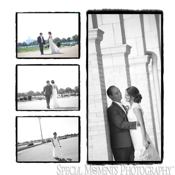 John & Katrina's Album Design: St Ambrose Grosse Pointe MI wedding & Grosse Pointe War Memorial wedding reception Grosse Pointe Farms