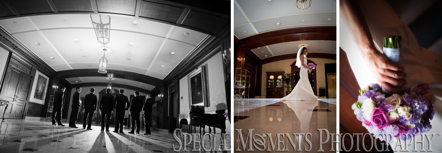 Wedding Photography At The Townsend Hotel In Birmingham: Shrine Of The Little Flower