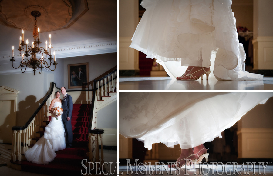 Lovett Hall wedding Greenfield Village Dearborn MI