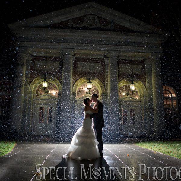 Nicole & Bill's Celebration at their Lovett Hall Wedding in Dearborn MI
