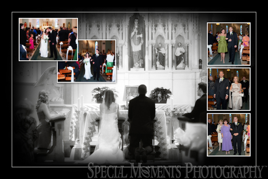 St. Charles Borromeo wedding photographs Newport MI