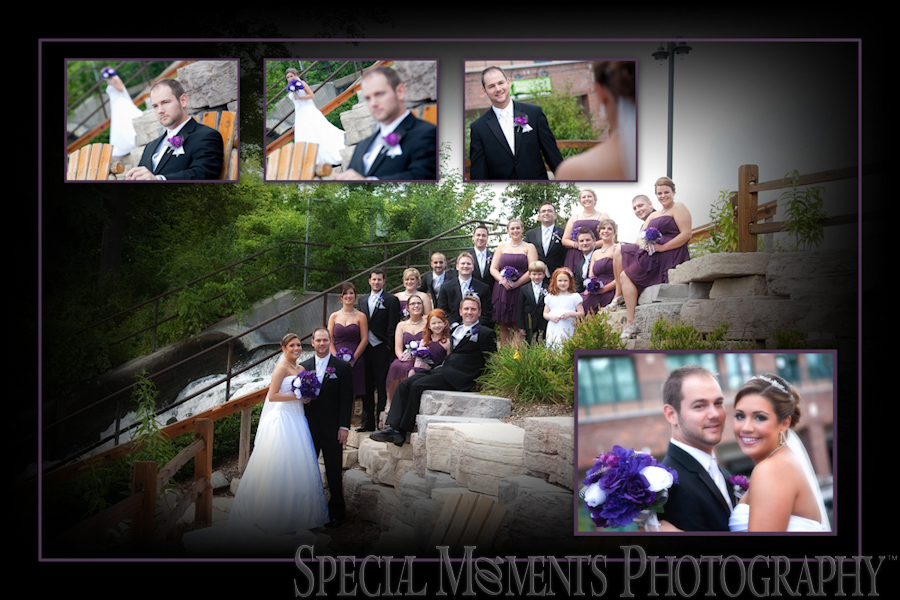downtown Milford wedding photograph