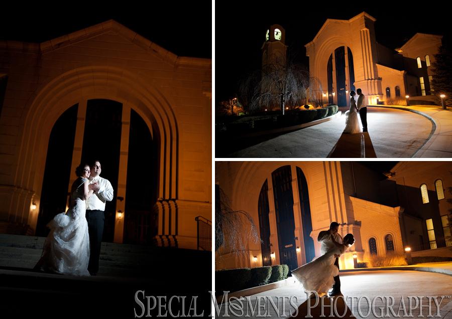 Mary Cultural Center wedding photograph Livonia MI