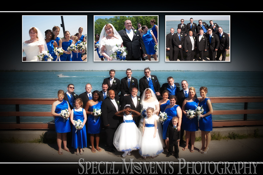 Elizabeth Park Trenton MI wedding photographs.