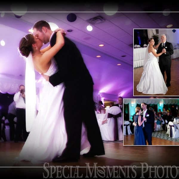 David & Stephanie: Wedding Album Design: Mystic Creek Milford Wedding MI at the Golf Club & Banquet Center