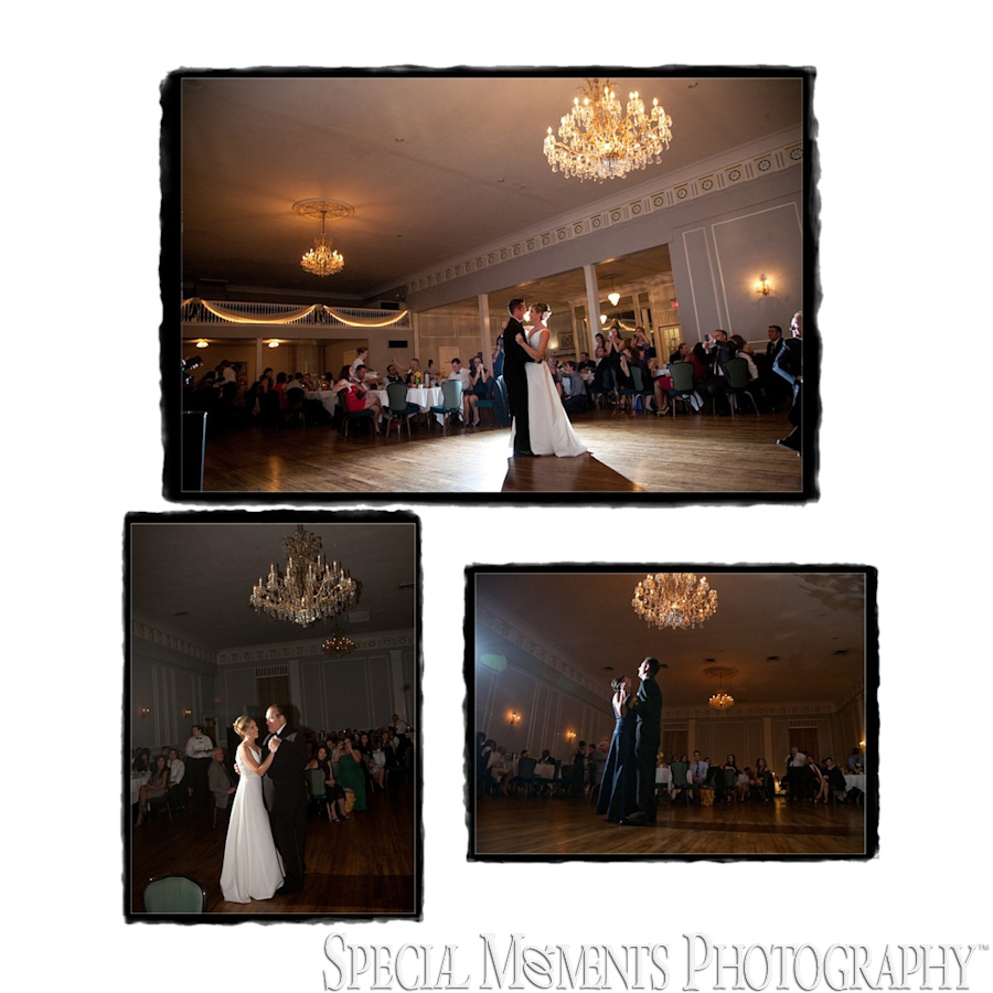 Meeting House Grand Ballroom wedding photograph Plymouth MI