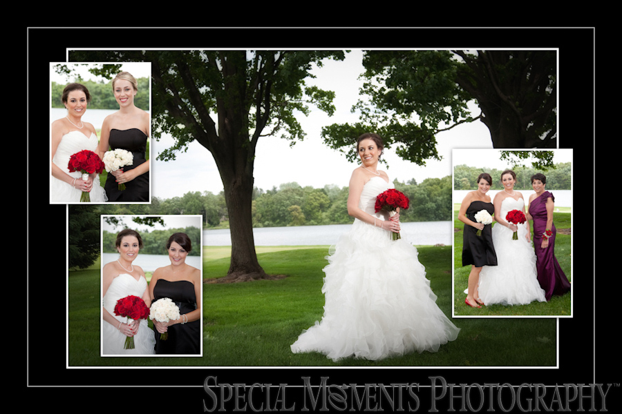 Bay Pointe Golf Club wedding photograph West Bloomfield