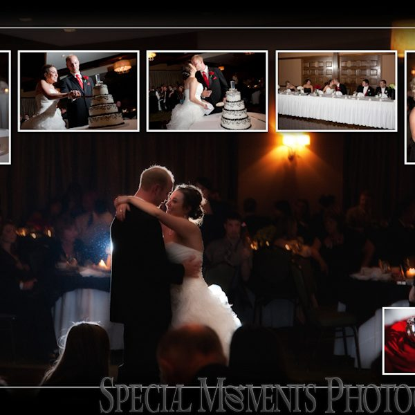 Ryan & Channing: Wedding Album Design Layout from Bay Pointe Golf Club MI Wedding & Reception West Bloomfield MI
