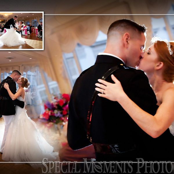 Christopher & Allison's Coffee Table Album Design: Grosse Pointe War Memorial Wedding Photos.