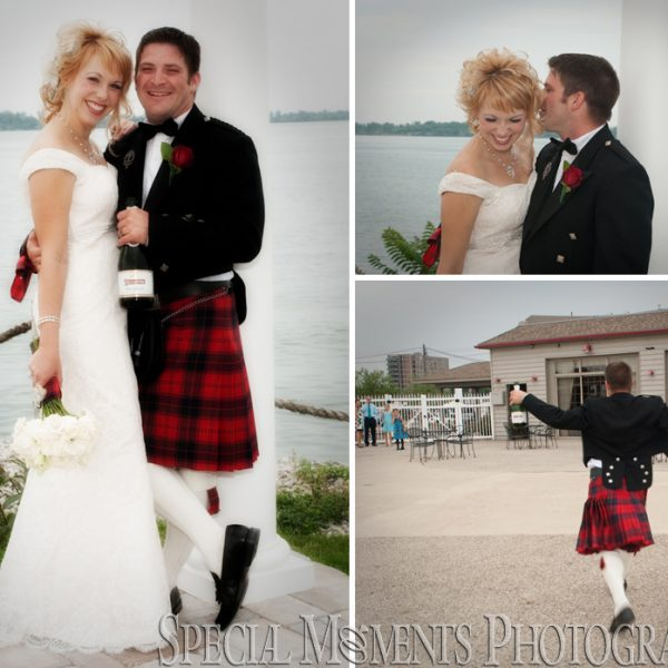 Megan & Ted's wedding at Riverview United Methodist & Silver Shores Waterfront Wyandotte MI