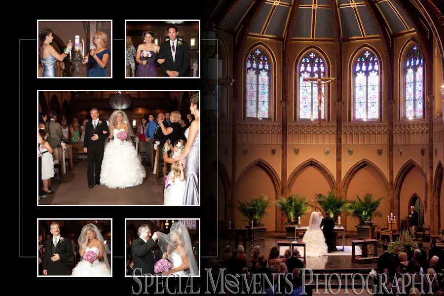 St. Ambrose Catholic wedding Grosse Pointe Park MI