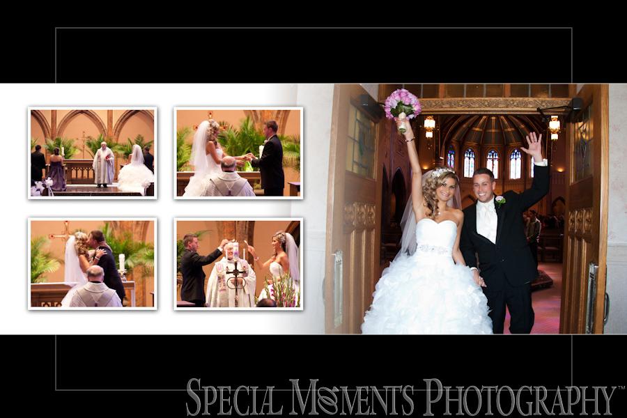 St. Ambrose Catholic wedding Grosse Pointe Park MI