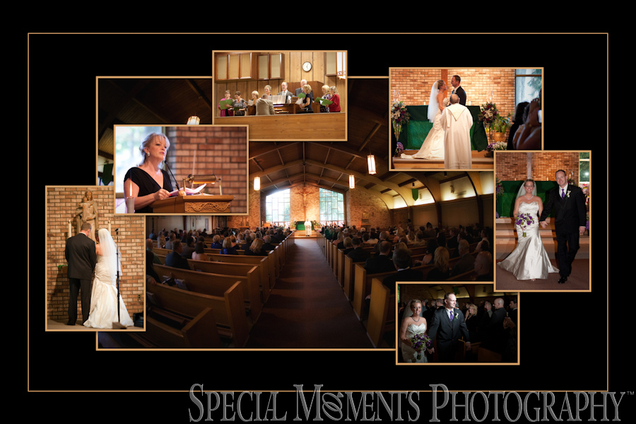 St. Robert Bellarmine wedding Redford MI