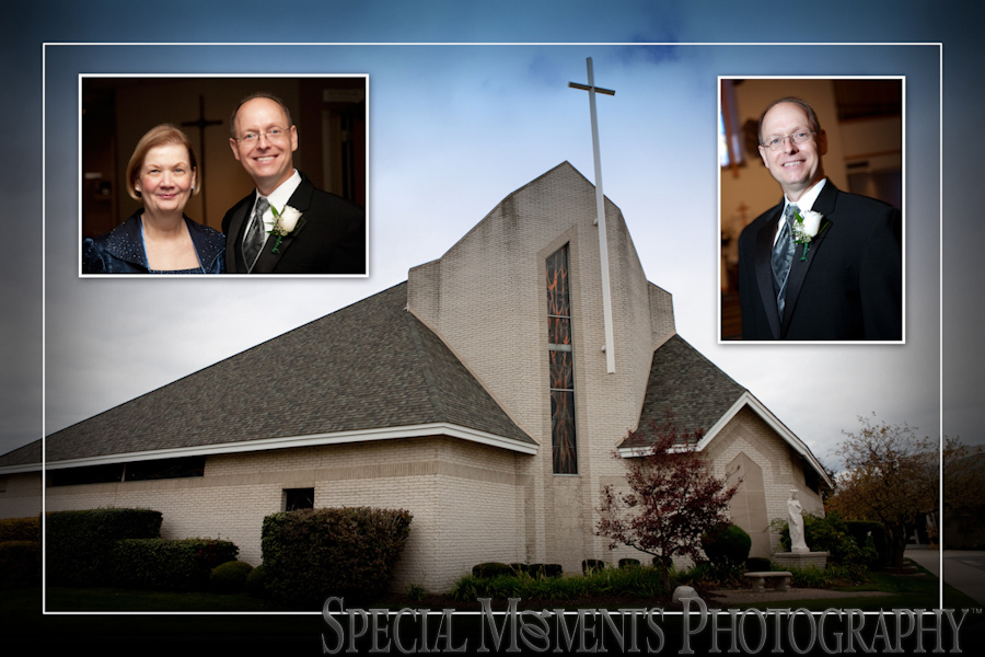 St. Edith Livonia MI wedding photograph