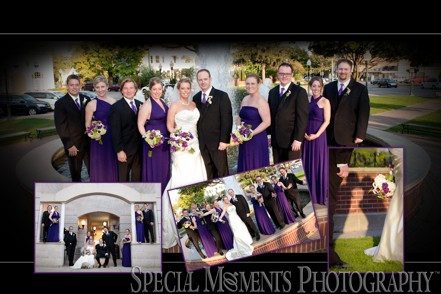 Plymouth MI Downtown wedding