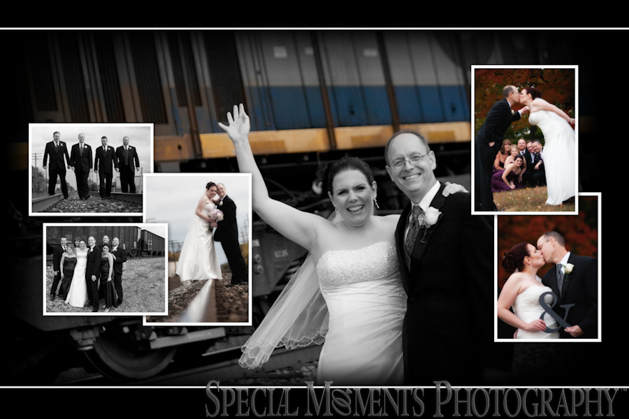Downtown Plymouth wedding photograph
