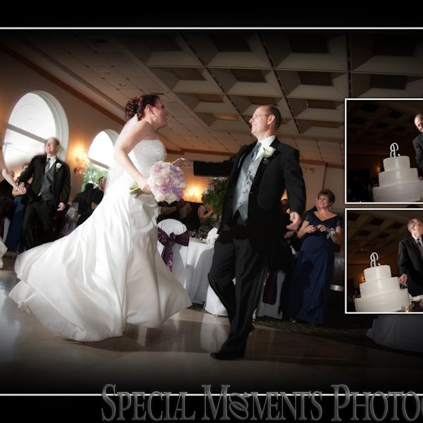 William & Sheryl's Wedding Album Design | St. Edith Church Livonia & Italian American Club Livonia Wedding Reception