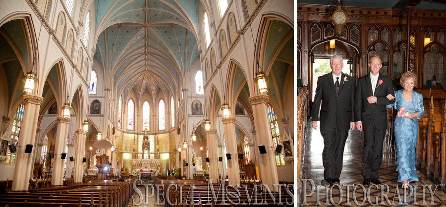 Allison Amp Ken S St Ann Catholic Church Detroit Wedding
