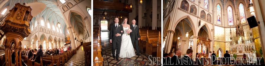St. Anne Catholic Church Detroit MI wedding photograph