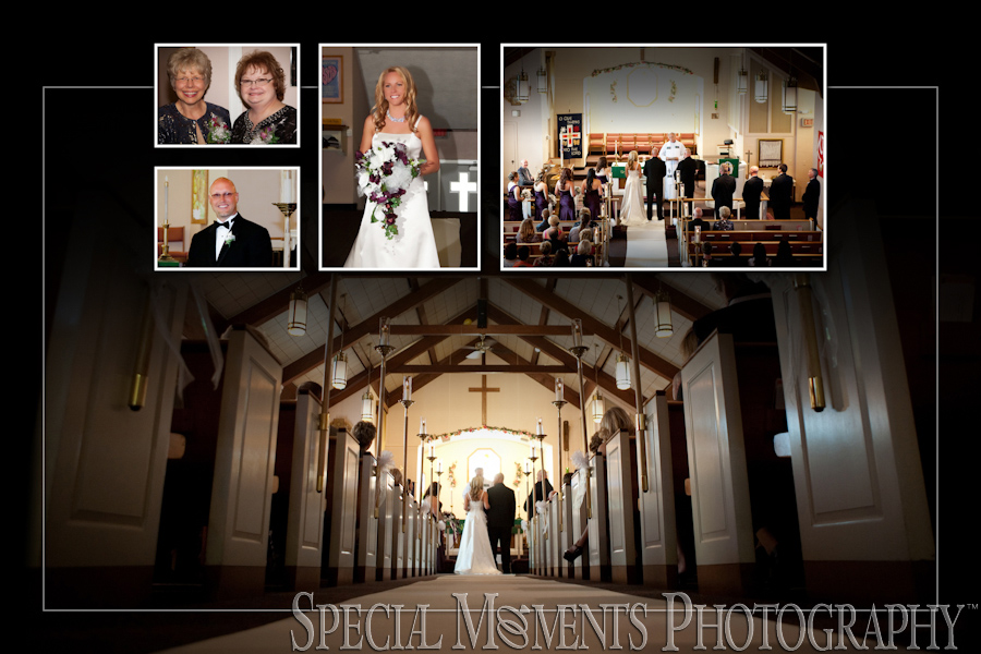 Faith Lutheran wedding photography Flat Rock MI