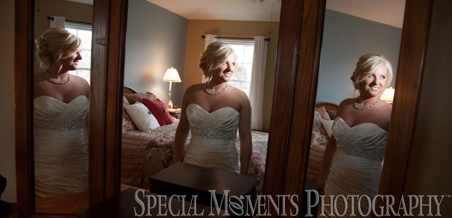 Home getting ready MI wedding