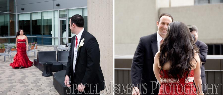 Marriott Ren Cen wedding Detroit MI