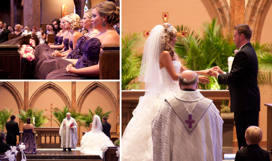 Brad Amp Brooke S Celebration St Ambrose Catholic Wedding