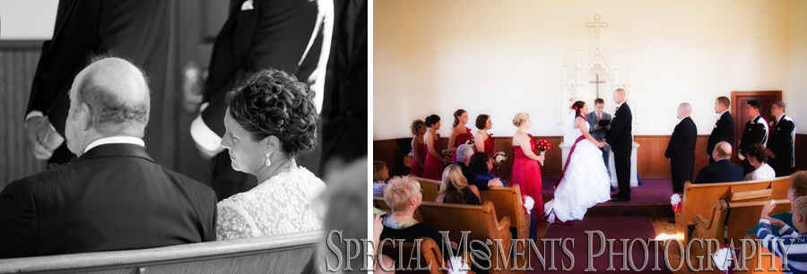 Apple Mountain Chapel FreelandMI wedding