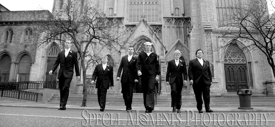 Fort Street Presbyterian Church Detroit wedding