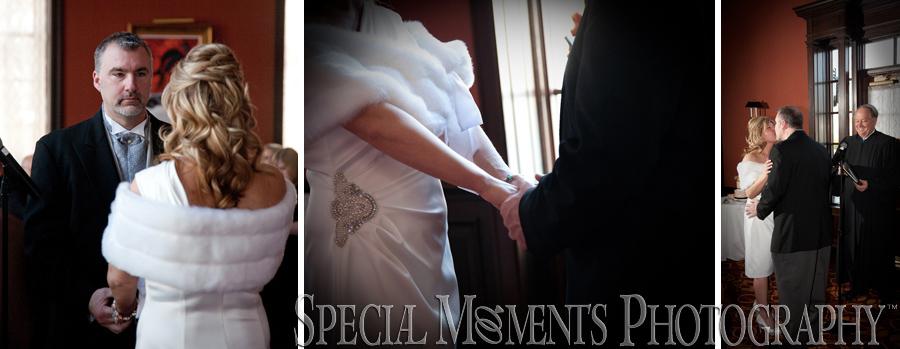 Dearborn Inn winter wedding