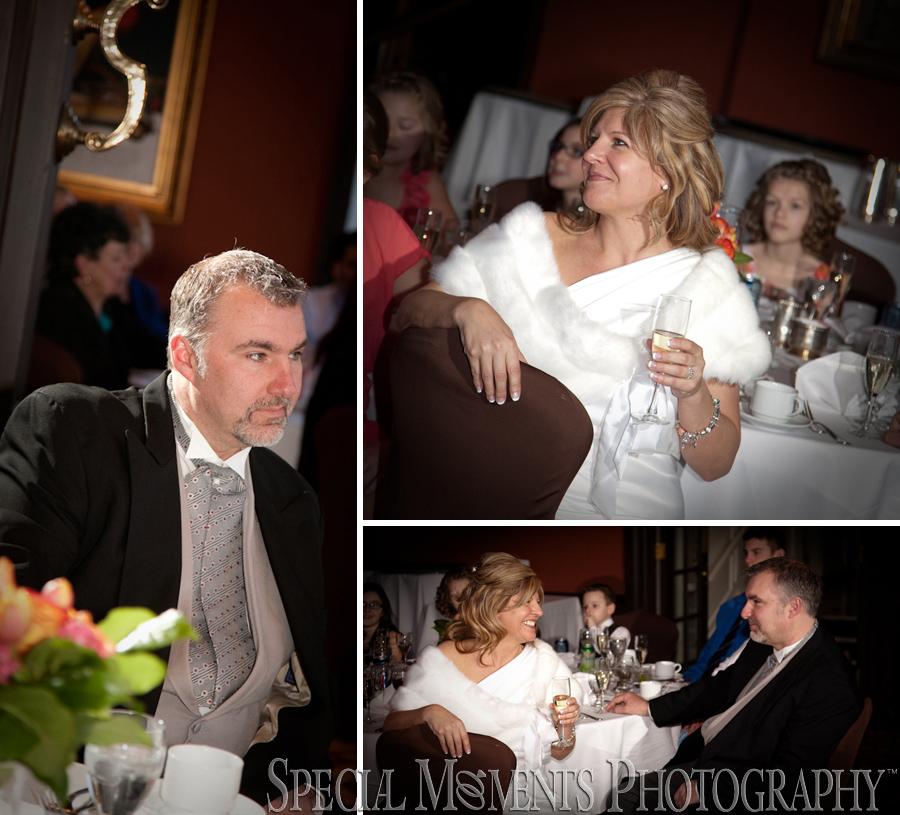 Dearborn Inn winter wedding reception