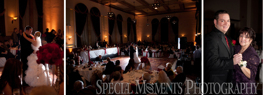 Inn at St. John's Galilee Ballroom Plymouth MI wedding reception